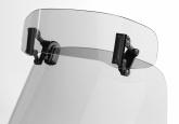Deflektor motocyklowy MRA UNIVERSAL VSA-TYP C  (30/18 CM), , -, forma VSA-C, przyciemniany