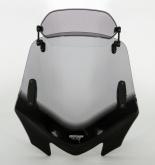 Uniwersalna szyba do motocykli bez owiewek MRA, forma VFXSZ, bezbarwna