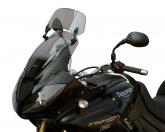 Szyba motocyklowa MRA TRIUMPH TIGER 1050 /SE /SPORT, 115 NG, 2006-2015, forma XCT, bezbarwna