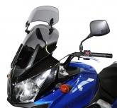 Szyba motocyklowa MRA SUZUKI DL 650 V-STROM, WVB1, 2004-2010, forma XCT, bezbarwna