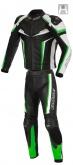 Kombinezon motocyklowy BUSE Mille czarno-zielony 52