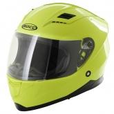 Kask motocyklowy dziecięcy ROCC 41 Jr. żółty neonowy 48