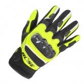 Rękawice motocyklowe BUSE Safe Ride czarno-neonowe