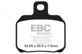 Klocki hamulcowe EBC SFA266HH skuterowe (kpl. na 1 tarcze)