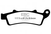 Klocki hamulcowe EBC SFA324HH skuterowe (kpl. na 1 tarcze)