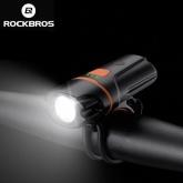 ROCKBROS Lampka rowerowa przednia 300 Lumenów USB