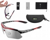 ROCKBROS Okulary rowerowe fotochrom UV400