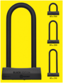 AUVRAY zapięcie U-LOCK BLACK EDITION  - 85X310  (klasa S.R.A.)