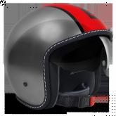 Kask Motocyklowy MOMO BLADE Metaliczna Czerwień / Czarny