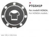 Naklejka na wlew paliwa PRINT Honda
