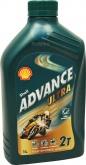 Olej silnikowy SHELL 2T ADVANCE ULTRA 1L (550028348)