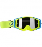 LAZER Gogle Race Style Mirror Yellow Fluo - Blue - Yellow Fluo kol. Mirror Silver