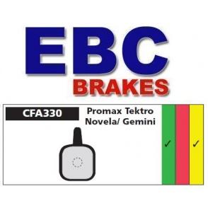 Klocki rowerowe EBC (spiekane) Tecktro Gemini - Novela (Until 2003)/Lyra, IO, IOX, Aquila CFA330HH