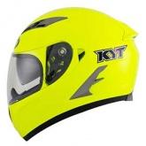 Kask motocyklowy KYT FALCON żółty