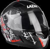 Kask motocyklowy LAZER BAYAMO Pitbull 2 czarny/czerwony/biały/matowy