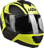 Kask motocyklowy LAZER LUGANO Z-Generation czarny/żółty/fluo/szary/matowy S