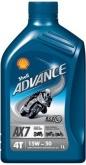 Olej silnikowy SHELL 4T AX7 15W50 1L (550044448)