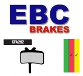 Klocki hamulcowe rowerowe EBC CFA292R AVID JUICY, BB7