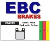 Klocki rowerowe EBC (organiczne wyczynowe) Giant MPH 2000 CFA333R