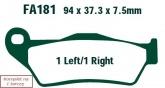 Klocki hamulcowe EBC EPFA181HH Extreme Pro (kpl. na 1 tarcze)