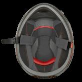 Kask motocyklowy dziecięcy ROCC 382 Jr. czarno-czerwony
