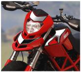 PRINT naklejki na motocykl HYPERMOTARD 2007/2012