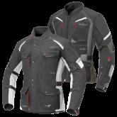 Kurtka motocyklowa BUSE Zestaw EXRC Porto czarno-czerwona/czarny-czerwona 56