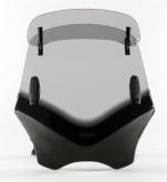 Uniwersalna szyba do motocykli bez owiewek MRA, forma VFVTC, przyciemniana