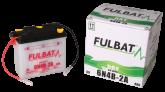 Akumulator FULBAT 6N4B-2A (suchy, obsługowy, kwas w zestawie)