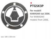 Naklejka na wlew paliwa PRINT Kawasaki 2006