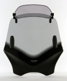 Uniwersalna szyba do motocykli bez owiewek MRA, forma VFXSC, przyciemniana