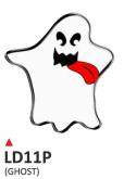 PRINT wypukła naklejka ghost