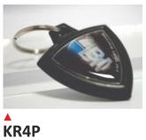 PRINT brelok na klucze, z dwustronną etykietą - BMW