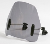 Uniwersalna szyba do motocykli bez owiewek MRA, forma RO, przyciemniana