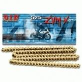 Łańcuch napędowy DID 525ZVMXG&G ilość ogniw: 120 (X-ring hiper wzmocniony )