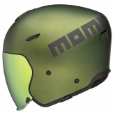 Kask Motocyklowy MOMO AERO (Green Matt / Grey Matt) rozm. XS