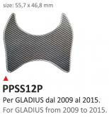 PRINT Naklejka na półkę kierownicy Suzuki Gladius 2009/2015