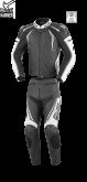 Kombinezon motocyklowy BUSE Silverstone Pro czarno-biały 46