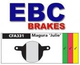 Klocki rowerowe EBC (spiekane) Magura Julie CFA331HH