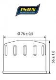 Filtr Oleju ISON 164 (HF164)