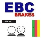 Klocki hamulcowe rowerowe EBC CFA248 HOPE
