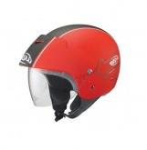 Kask motocyklowy LAZER BE-BOP Graph Plus czerwony/czarny