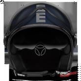 Kask Motocyklowy MOMO FGTR EVO Niebieski Mat / Srebrny