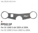 PRINT Naklejka na półkę kierownicy Suzuki SV1000S 2003/2004