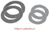 ProX Pierścienie Dystansowe Korbowodu Silver YZ250 '99-20 + KTM/CR250 24x41x1.0