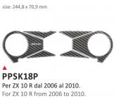 PRINT Naklejka na półkę kierownicy Kawasaki ZX10R 2006/2010