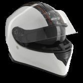 Kask motocyklowy ROCC 432 biało-czarny [ROCC432]