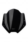 Uniwersalna szyba do motocykli bez owiewek MRA, forma SH, bezbarwna