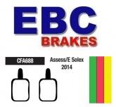 Klocki rowerowe EBC ASSESS/E-SOLEX CFA688 (1 kpl.)