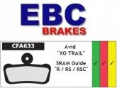 Klocki rowerowe EBC AVID XO TRAIL CFA633 (1 kpl.)